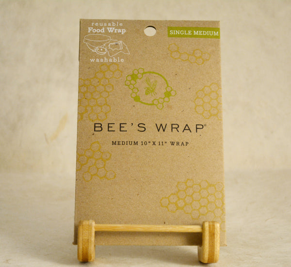 Single Medium Reusable Beeswax Wrap