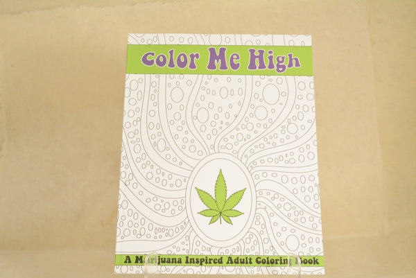 Color Me High Coloring Book