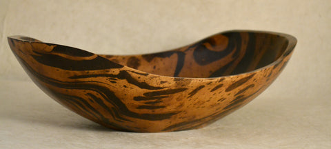 Mango Wood Oval Bowl