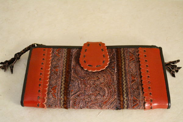 Large Thailand Leather Wallets