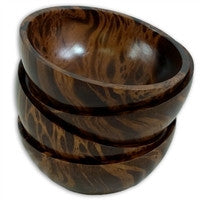 Marble Mango Wood Bowl