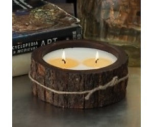 Medium Tree Bark Candle