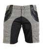 Houndstooth Short Shorts