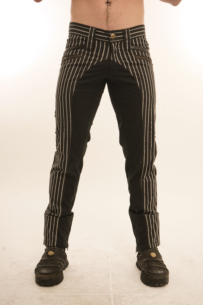 Steampunk Pinstripe Pants