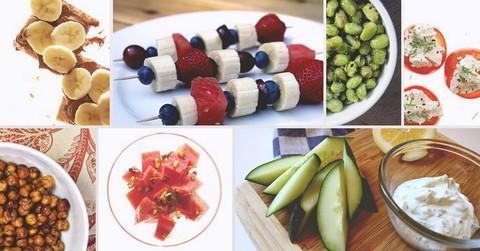 Eight Healthy Snacks for Super Bowl That You Can Make in 15 Mins