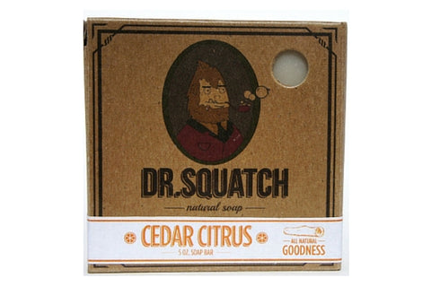 Dapper & Done | Dr. Squatch Cedar Citrus Soap