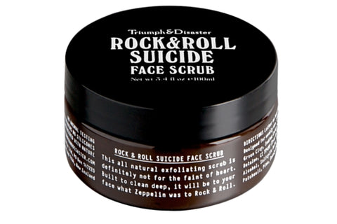 Dapper & Done | Rock & Roll Suicide Exfoliating Face Scrub