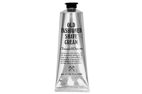 Dapper & Done | Old Fashioned Shave Cream Triumph & Disaster