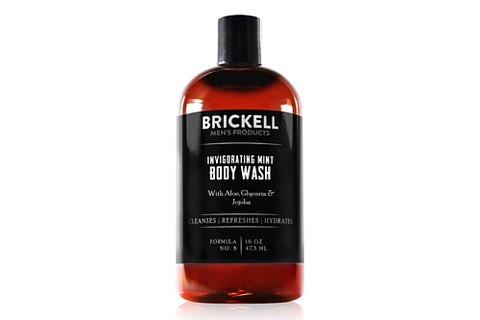 Dapper & Done | Brickell Invigorating Mint Body Wash