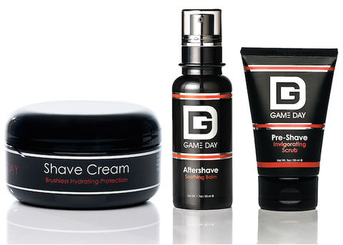 Game Day 3-Step Shave Pack