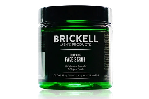 Dapper & Done | Renewing Face Scrub from Brickell