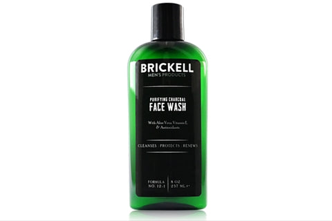 Dapper & Done | Purifying Charcoal Face Wash from Brickell