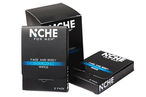 Niche for Men Face & Body Deodorizing Wipes