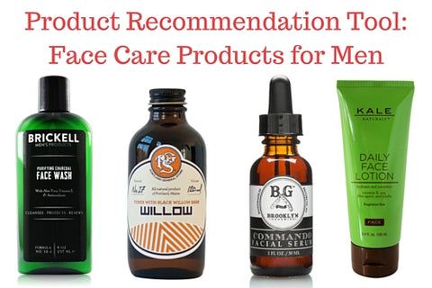 Product Recommendation Tool: Face Care Products for Men