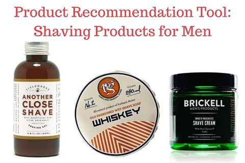 Product Recommendation Tool: Shaving Products for Men