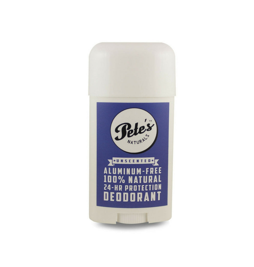 Dapper & Done  | Pete's Naturals Unscented Deodorant
