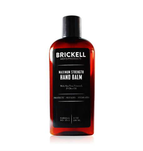 Dapper & Done | Brickell Maximum Strength Men's Hand Balm