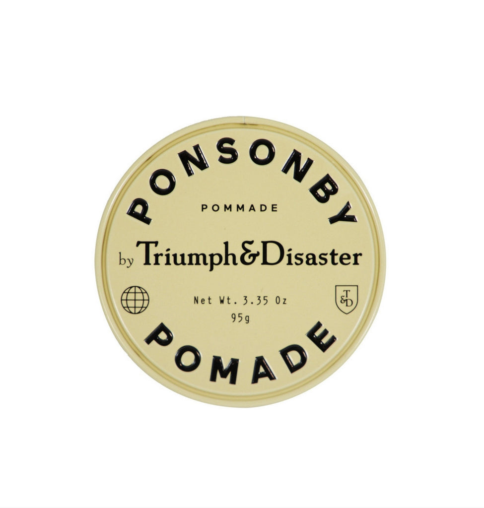 Dapper & Done | Triumph & Disaster Ponsonby Pomade