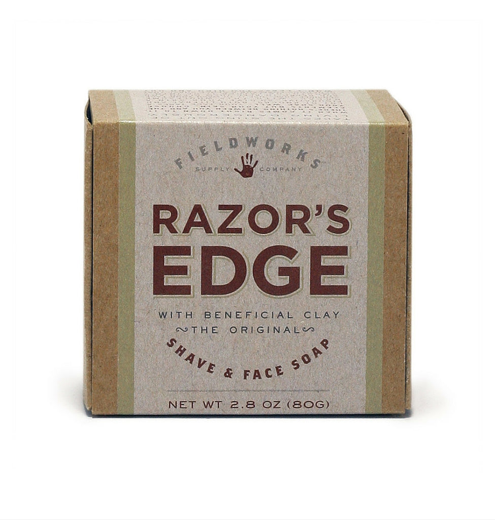 Dapper & Done  | Fieldworks Supply Razor's Edge Shave and Face Soap