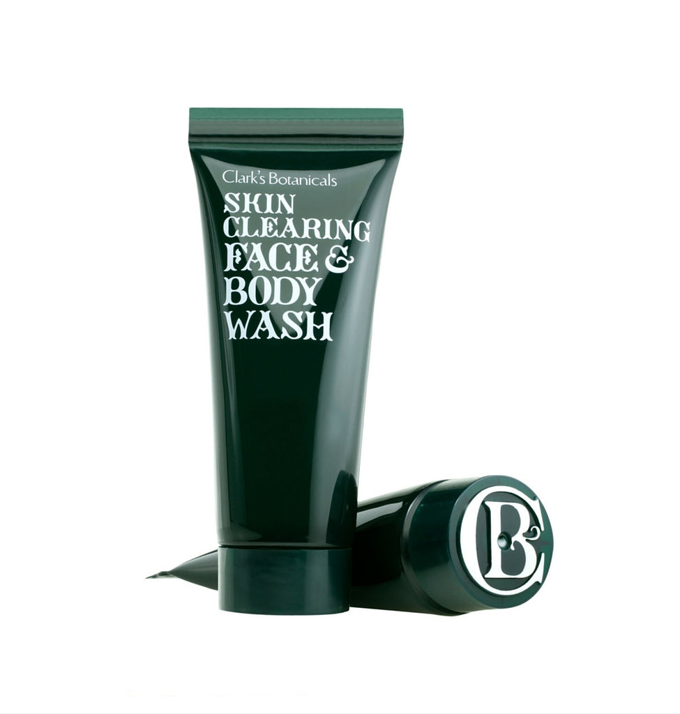 Dapper & Done | Clark's Botanicals Skin Clearing Face & Body Wash