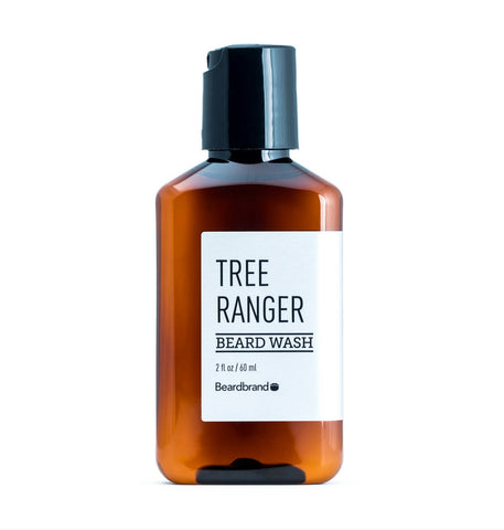 Dapper & Done  | Beardbrand Beard Wash - Tree Ranger Travel Size  - 1