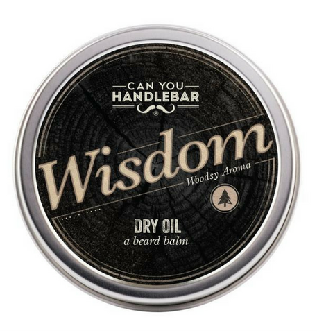Dapper & Done  | CanYouHandlebar Wisdom Dry Beard Oil Balm  - 1
