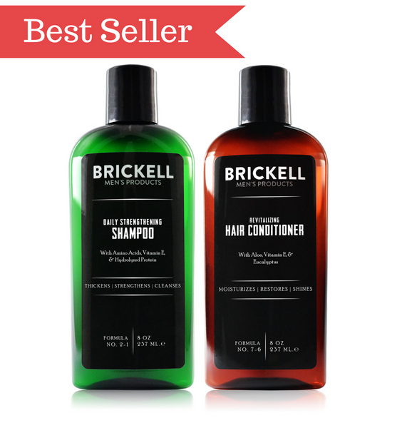 Dapper & Done | Brickell Hair Care Bundle