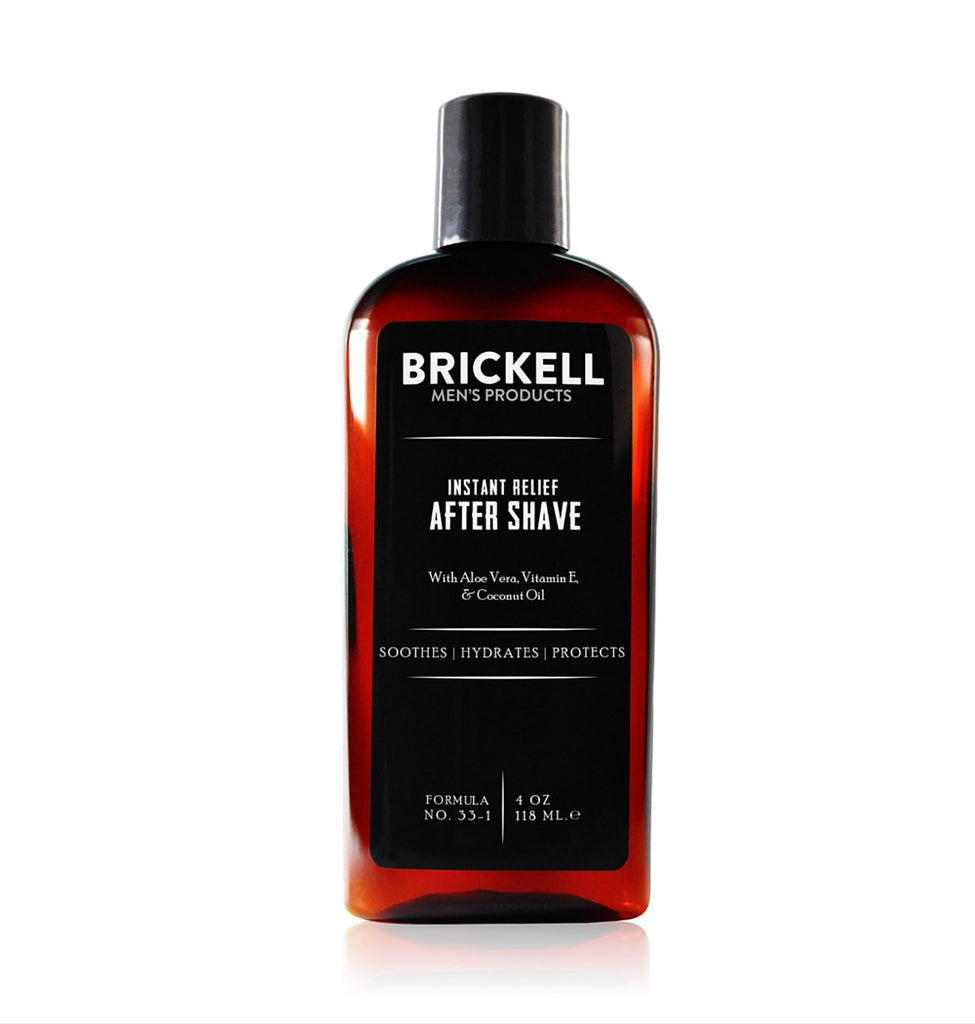 Dapper & Done | Brickell Instant Relief Aftershave