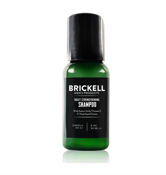Dapper & Done  | Brickell Daily Strengthening Shampoo - Travel Size