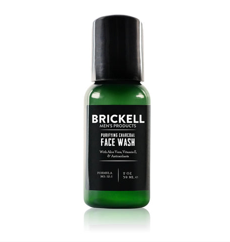 Dapper & Done  | Brickell Purifying Charcoal Face Wash - Travel Size