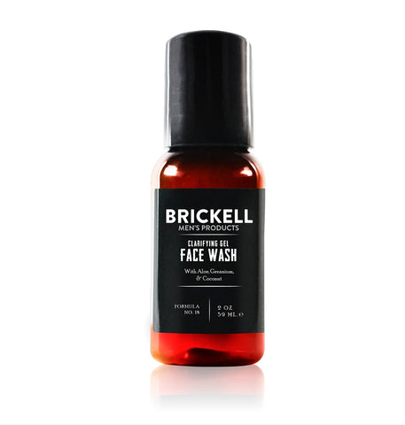 Dapper & Done  | Brickell Clarifying Gel Face Wash - Travel Size