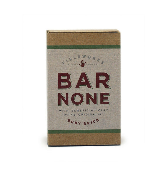 Dapper & Done  | Fieldworks Supply Bar None Body Brick Soap
