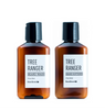 Dapper & Done  | Beardbrand Silver Line Beard Wash & Softener Kit - Travel Size  - 5