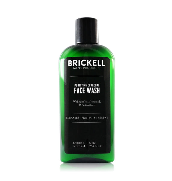 Dapper & Done | Brickell Purifying Charcoal Face Wash