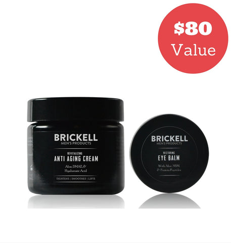 Dapper & Done  | Brickell Ultimate Men's Anti-Aging Routine Bundle  - 1