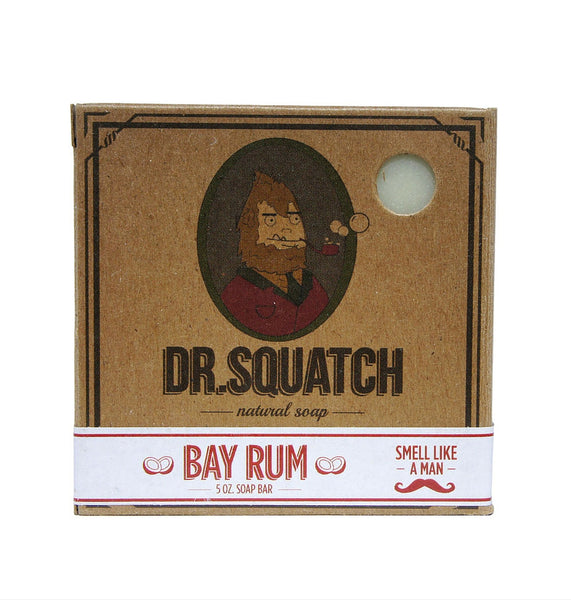 Dapper & Done | Dr. Squatch Bay Rum Soap
