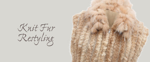 knit fur restyling