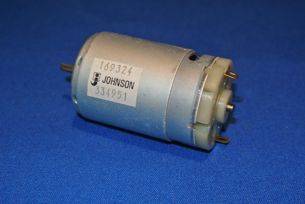 Johnson small low voltage DC motor