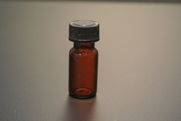 Amber Vial, 4mL, Glass