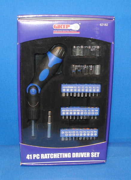 41 piece ratcheting driver set