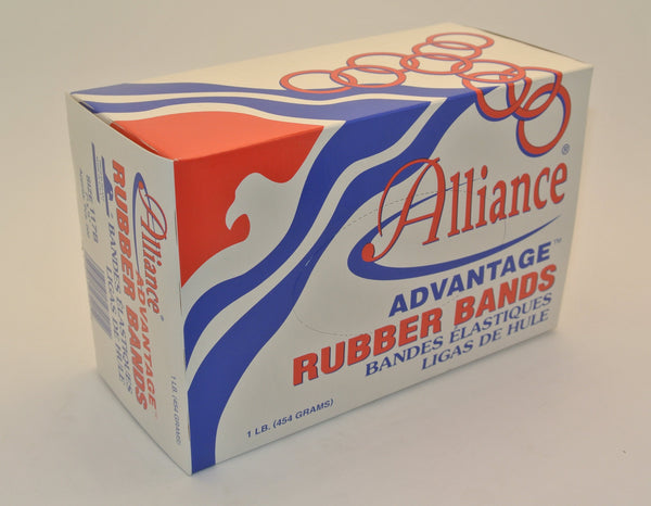 1 LB. Box of Rubber Bands