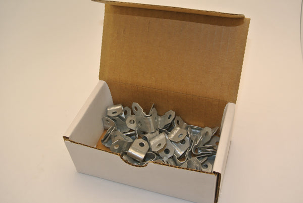 Box of 50 Steel Cable Clips