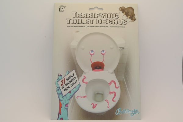 """Terrifying"" Toilet Decals"