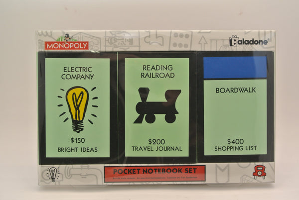 Monopoly Pocket Notebook Set