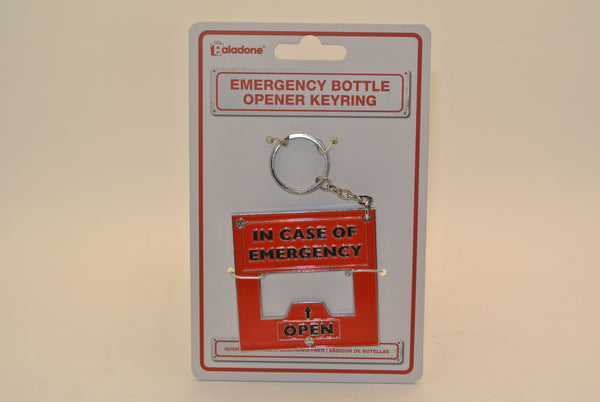 Emergency Bottle Opener Keychain