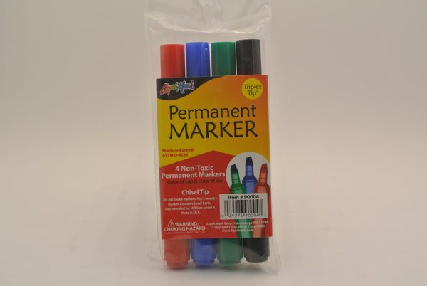 4 Pcs Permanent Markers