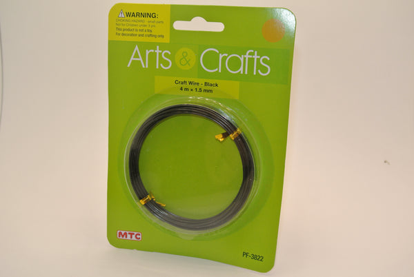 Black Craft Wire