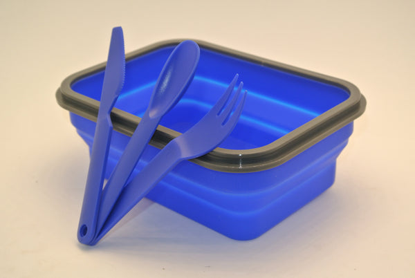 Collapsible Silicone Food Storage Device