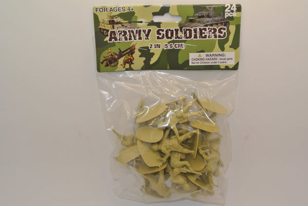 24PC Plastic Toy Soldiers