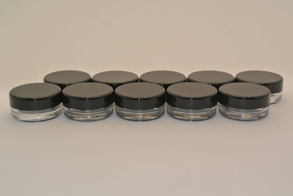 10pc Small Cosmetic Containers